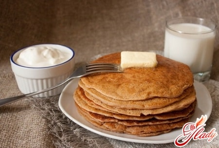вкусные блины на молоке