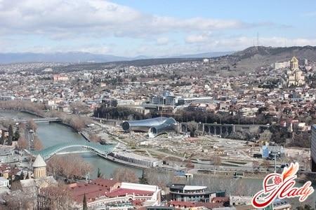 вид на Новый Тбилиси