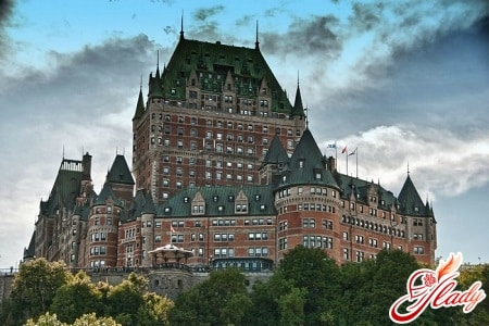 Замок Шато Фронтенак в Квебеке