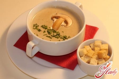 суп пюре без картофеля