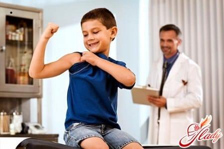 на приеме у врача педиатра