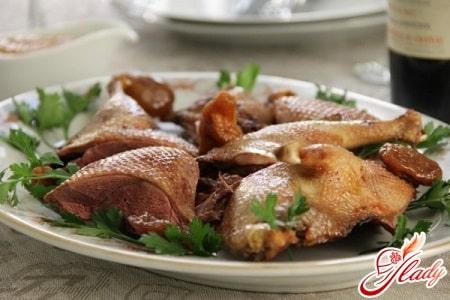 разные рецепты приготовления утки