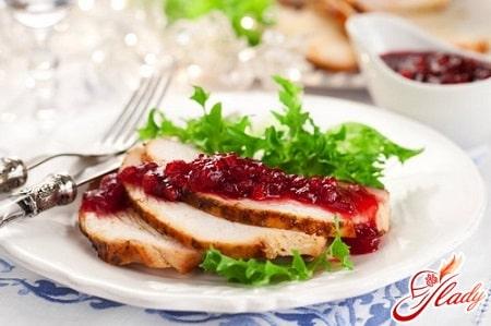 Соус из клюквы – оригинальное дополнение к мясу
