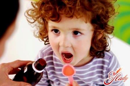 лечение бронхита у ребнка отхаркивающими сиропами
