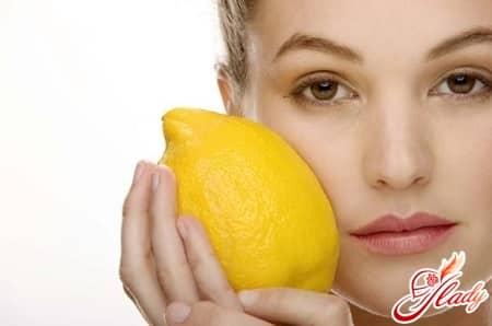 обесцвечивание волос лимонной кислотой