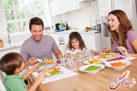 правильный режим питания для укрепления здоровья
