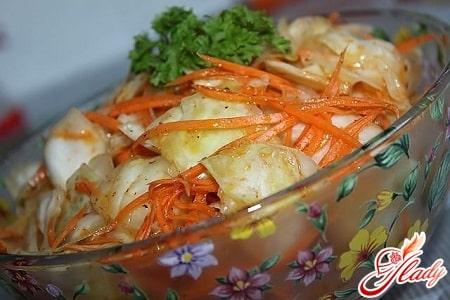 вкусная капуста по корейски