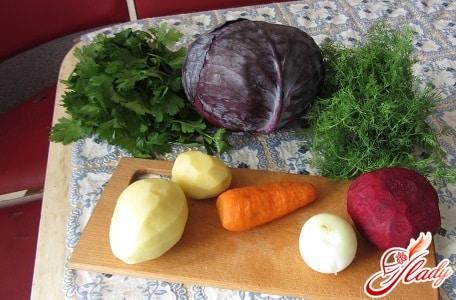 ингредиенты для цветной капусты по корейски