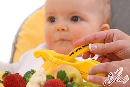 овощи и фрукты важны для питания ребенка после года
