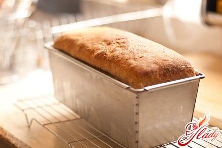 запекание хлеба в духовке