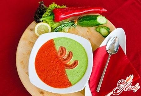 разные рецепты супа гаспачо