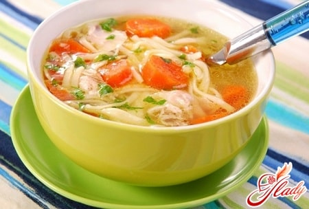 разные рецепты куриного супа с вермишелью