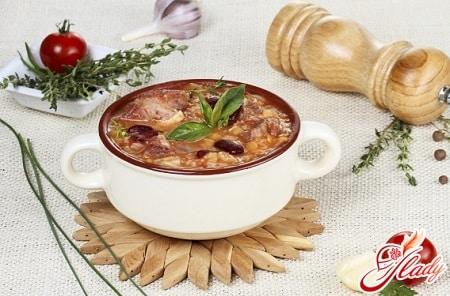 вкусный суп харчо с говядиной
