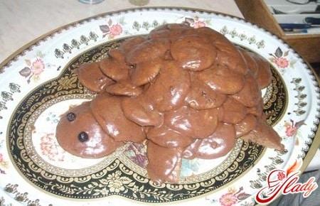 разные рецепты торта черепаха
