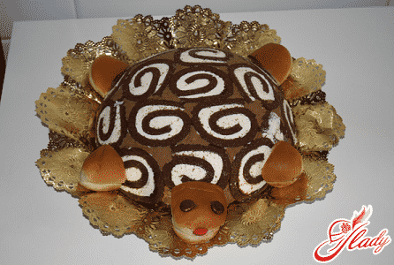 простой рецепт торта черепаха со сметаной