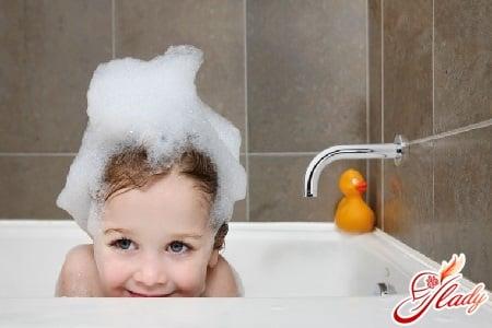 подберите правильный шампунь для ребенка