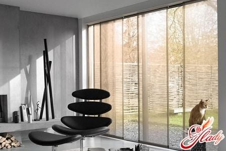 красивые японские шторы