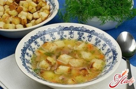 вкусные рецепты горохового супа