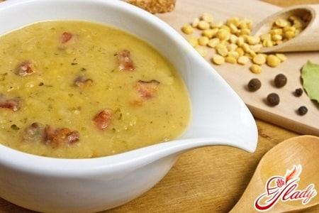 разные рецепты горохового супа
