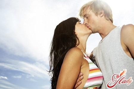 поцелуй в первый раз