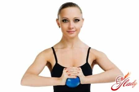 разминка для увеличения груди
