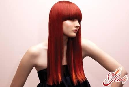 выпрямление волос разными способами