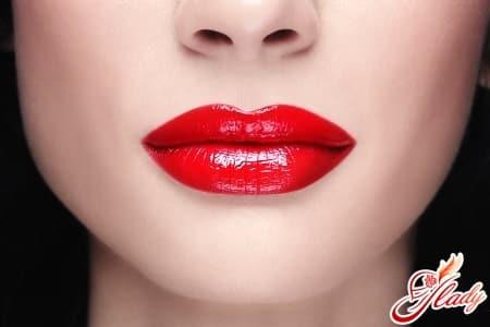 зрительное увеличение губ