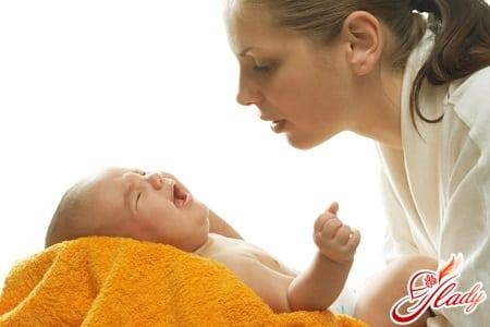 признаки появления молочницы у ребенка