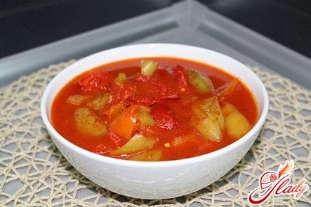вкусное лечо по болгарски