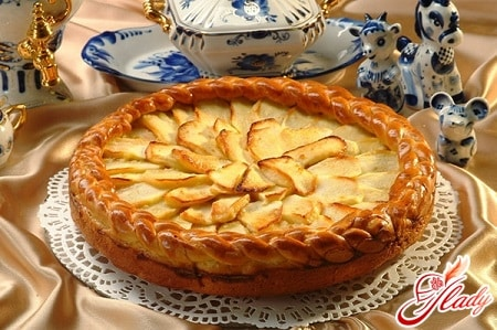 вкусный ленивый пирог с яблоками
