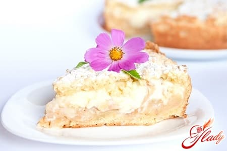Рецепт чудесного зимнего яблочного пирога