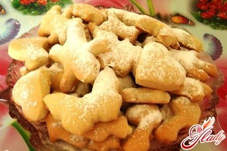 постное медовое печенье