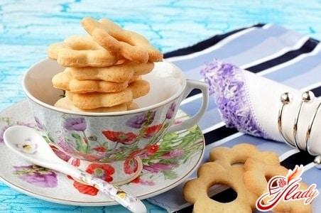 постное фруктовое печенье