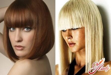 стрижки для прямых волос
