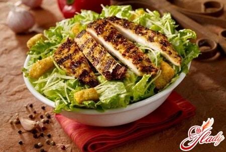 """Великий салат """"Цезарь"""""""