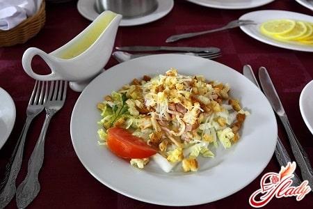 рецепт заправки до салату цезарь