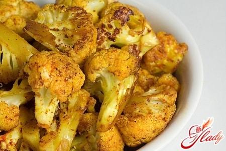 рецепты с цветной капусты с фото