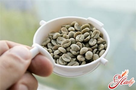 процесс приготовления зеленого кофе