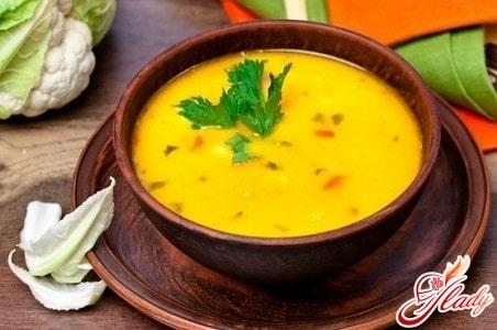 капустный суп пюре