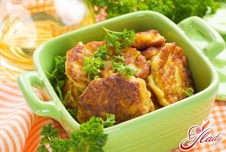 рецепт капустных котлет с сыром