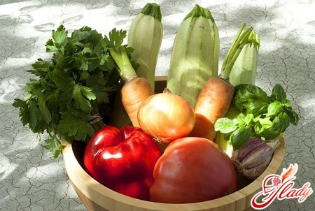 ингредиенты для кабачкового лечо