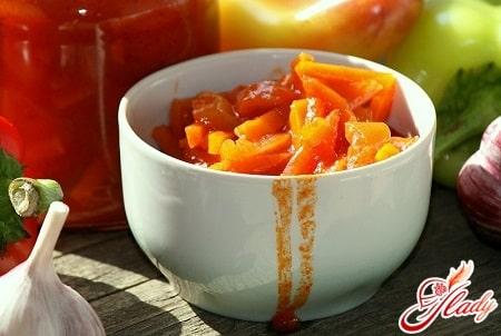 вкусное лечо с кабачками