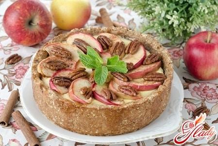 разные рецепты яблочного пирога