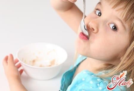 продукты для питания ребенка