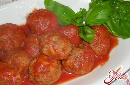 разные рецепты тефтелей в томатном соусе