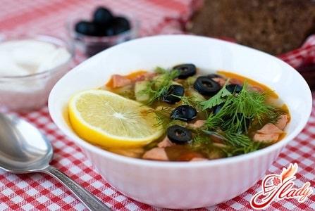 простой рецепт супа солянка способ приготовления