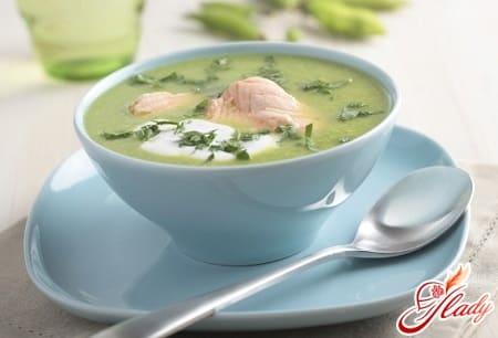 вкусный суп с горбушей