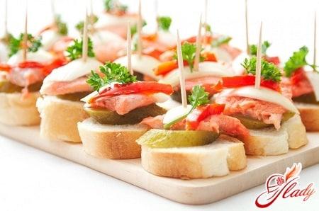закуски французской кухни