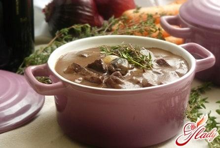 супы французской кухни