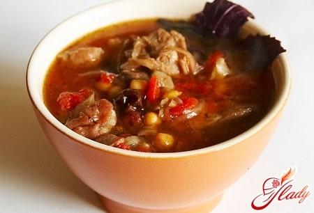 вкусный суп пити